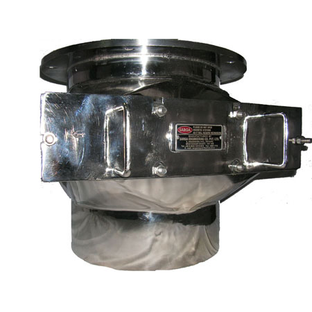 Sarga Magnetic Grill with Housing Under Butterfly valve