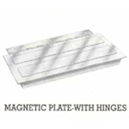 Magnetic Plate with Hinges
